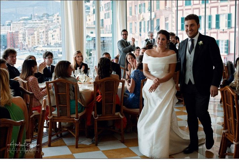 ingresso sposa matrimonio cenobio dogi camogli