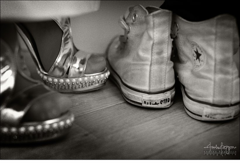 detail all star bride shoes wedding italy