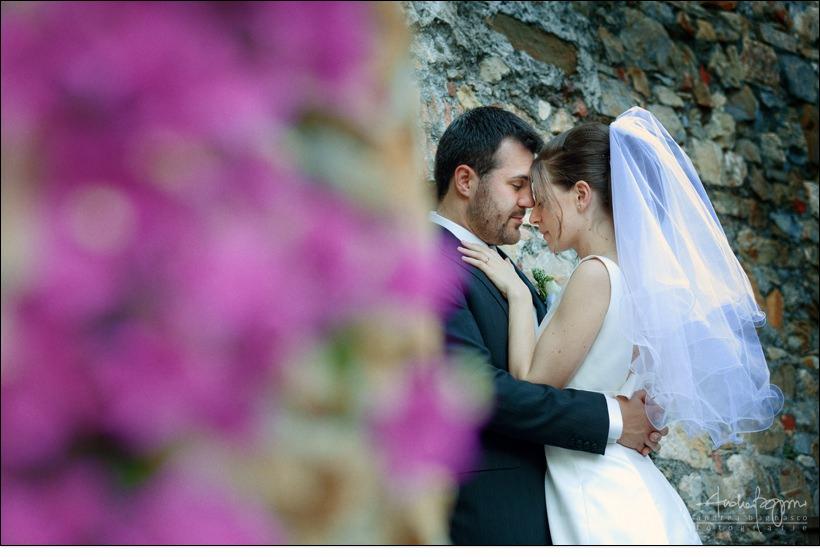 sposi matrimonio cervo