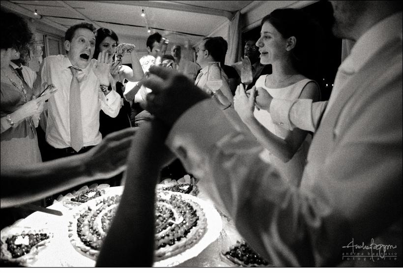 taglio torta matrimonio la femme