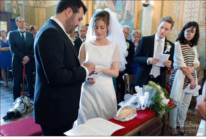 scambio anelli matrimonio imperia