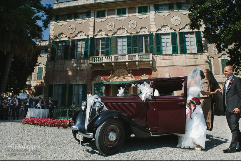 Matrimonio a Villa Faraggiana Albissola
