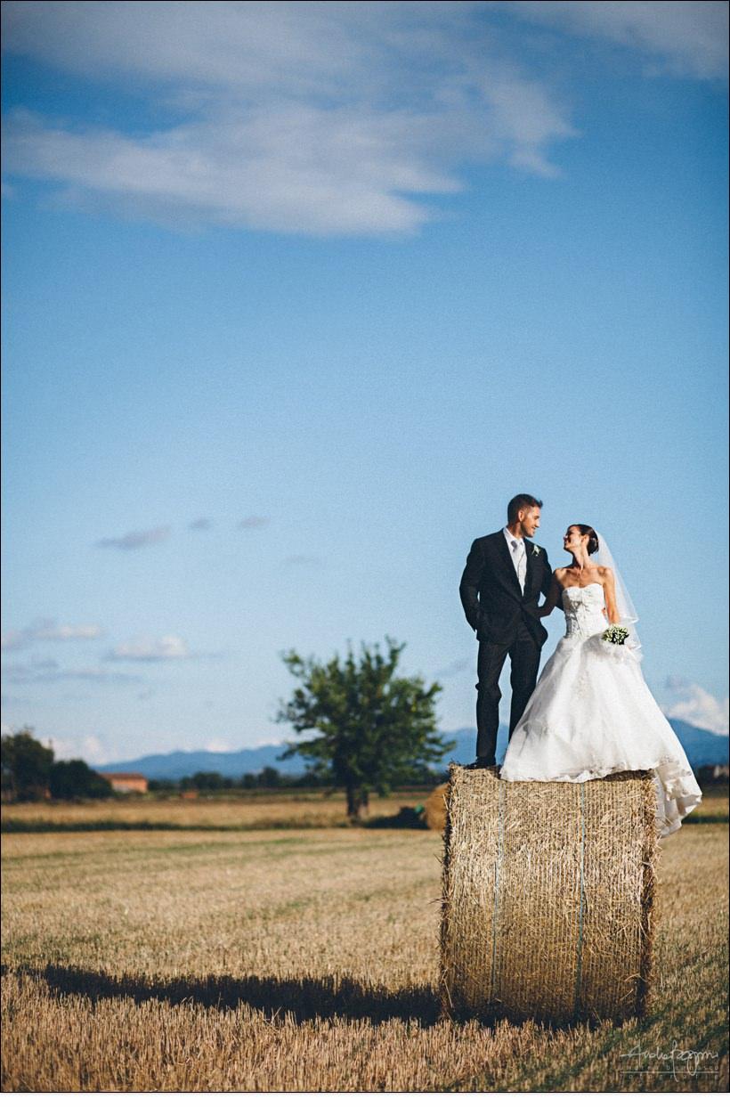 matrimonio alessandria balle fieno campo grano