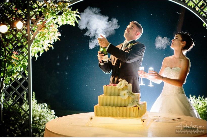 taglio torta matrimonio castello lajone
