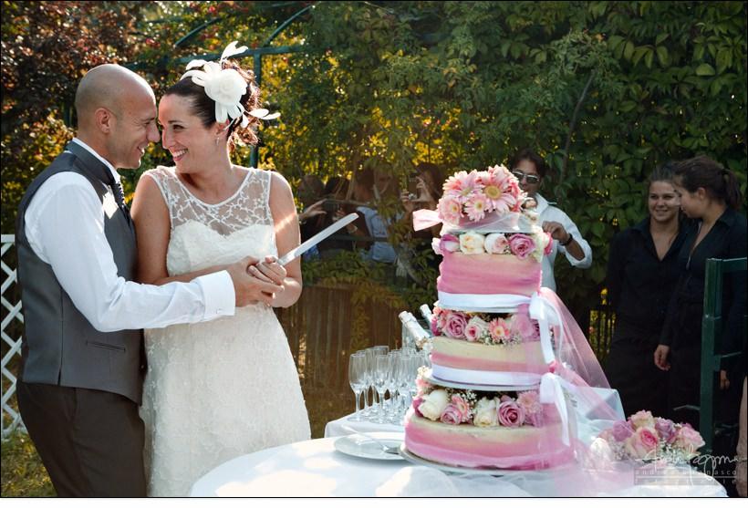 taglio torta villa sorgiva matrimonio