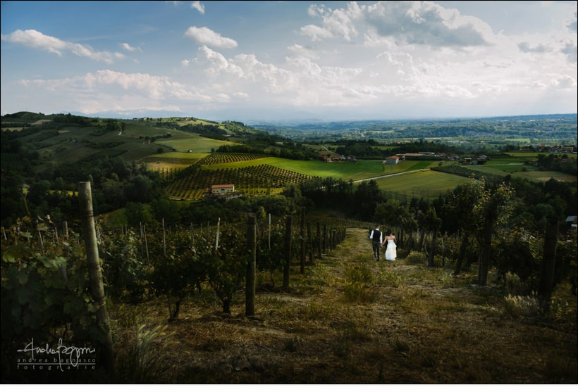 langhe landscape wedding winery matrimonio