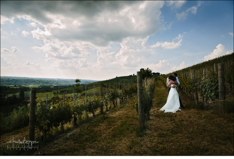 winery wedding at bricco rosso