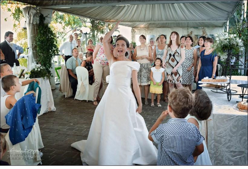 lancio bouquet matrimonio varazze orizzonte