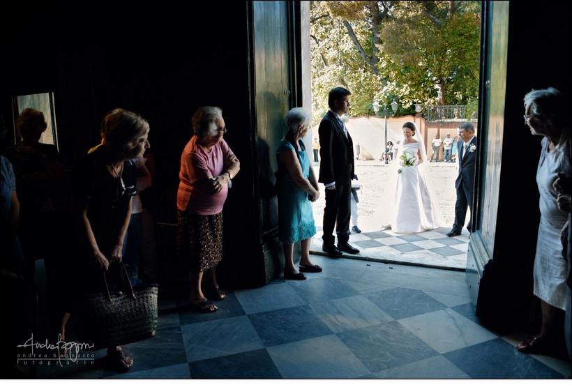 ingresso sposa matrimonio varazze
