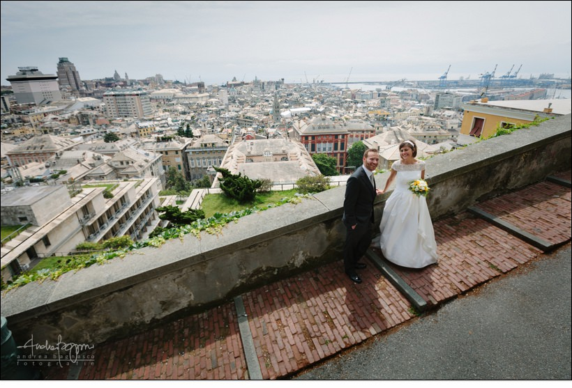 genova wedding spianata castelletto