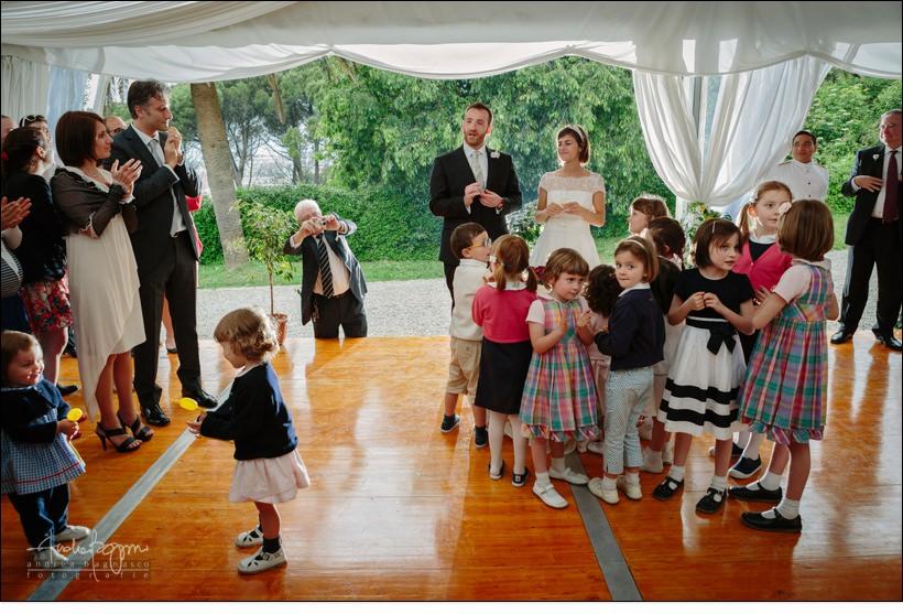 wedding at palazzo della torre