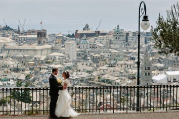 fotografo matrimonio genova spianata castelletto