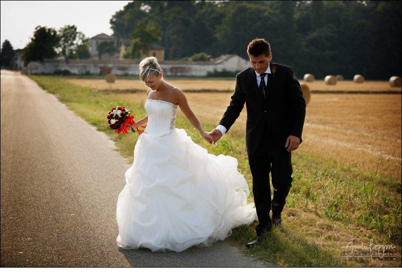 ritratto sposi fotografo matrimonio pavia