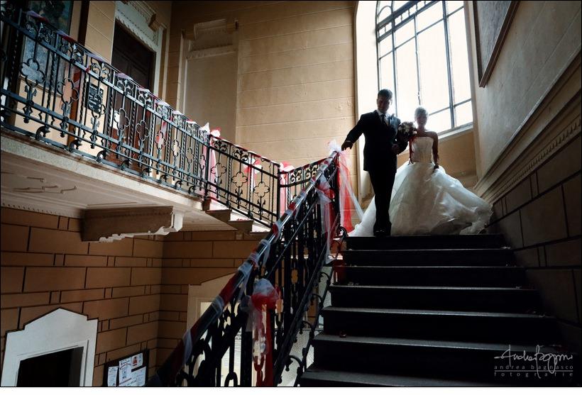 sposi uscita celebrazione matrimonio civile