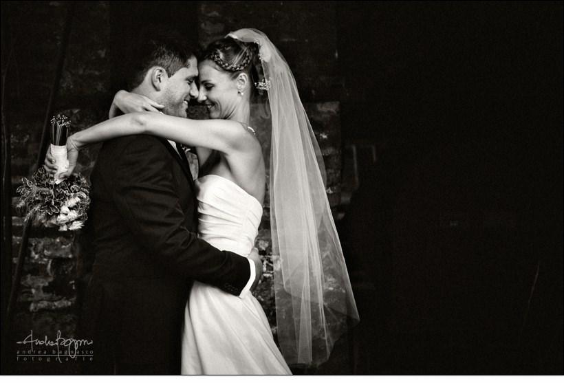 ritratto sposi matrimonio genova