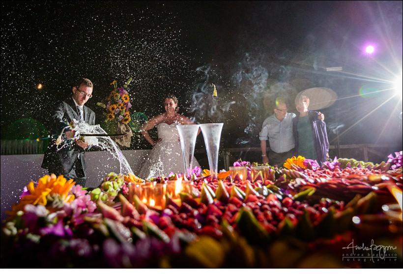champagne sciabola la ginestra matrimonio