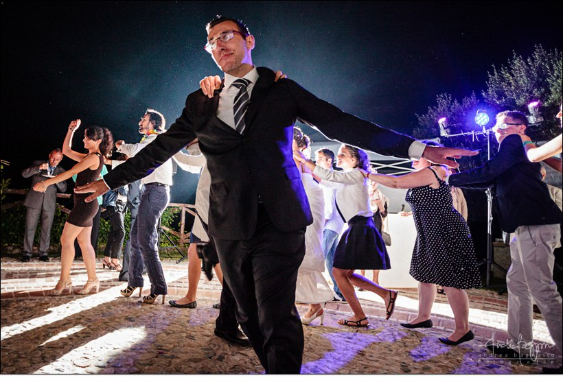 dance floor la ginestra wedding finale