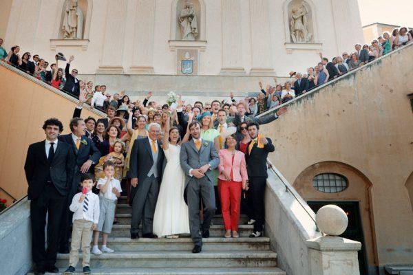 foto gruppo matrimonio genova