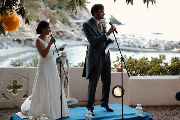 discorso sposi baia zoagli castello canevaro