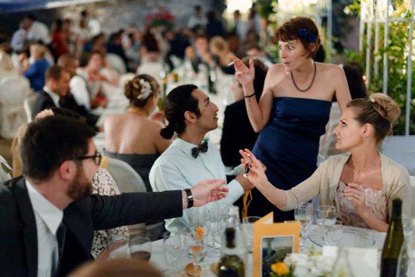 invitati ricevimento matrimonio castello canevaro