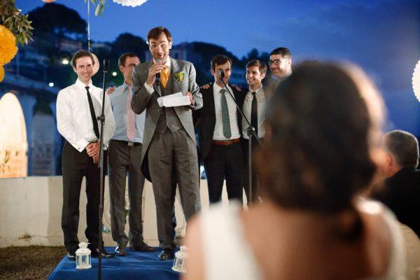 discorso sposo emozioni matrimonio castello canevaro
