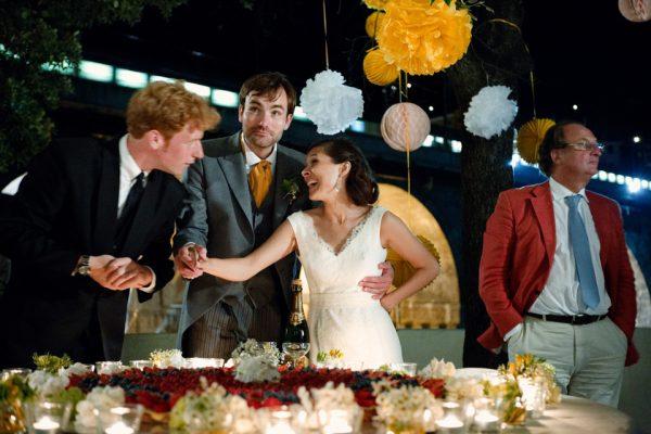 taglio torta matrimonio zoagli