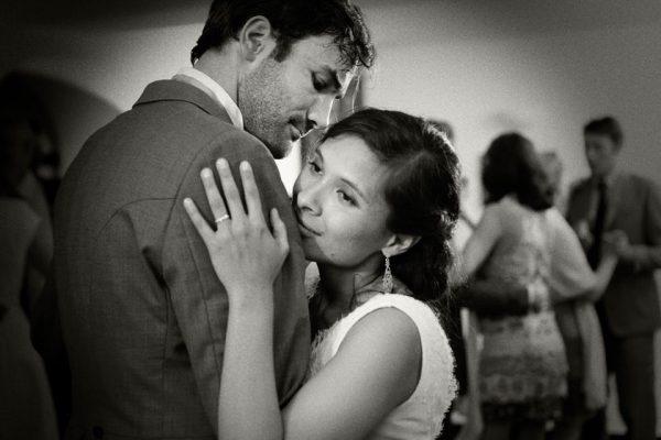 emozioni sposi matrimonio zoagli castello canevaro
