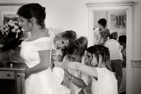 matrimonio cenobio preparazione sposa