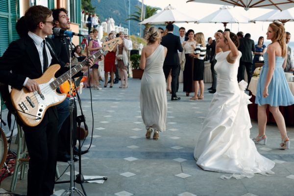 musica dal vivo matrimonio cenobio camogli