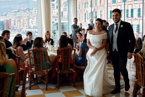 ingresso sposi cenobio camogli