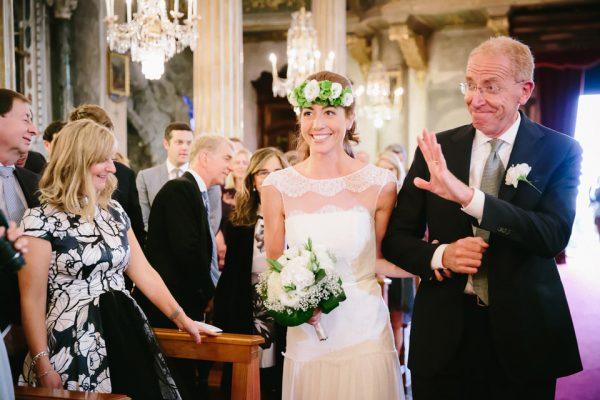 navata sposa santa margherita villa durazzo