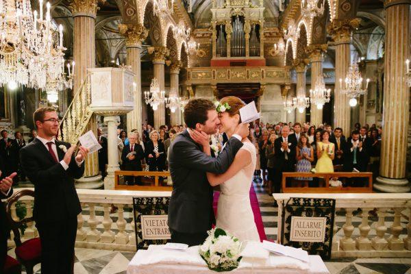 bacio sposi san giacomo santa margherita