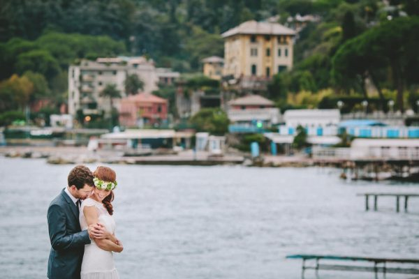 sposi spiaggia santa margherita fotografo