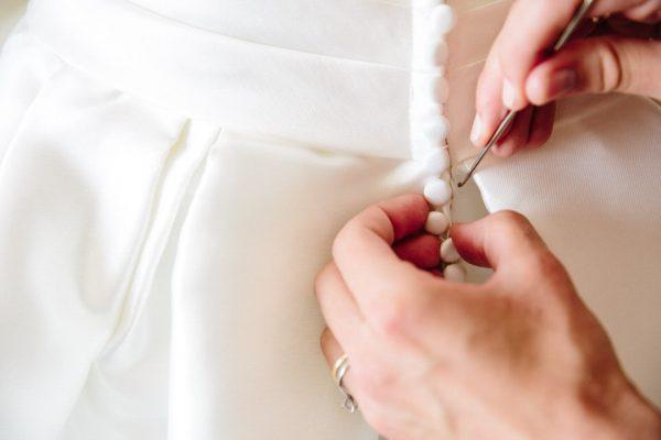 dettagli abito sposa genova