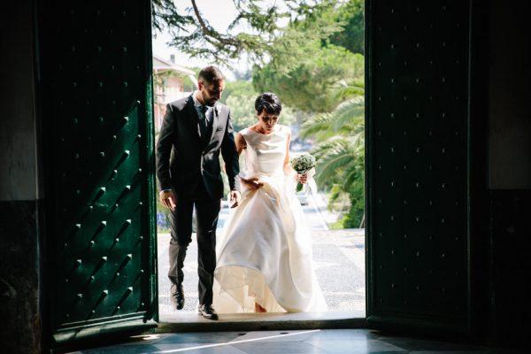 ingresso sposi matrimonio san michele