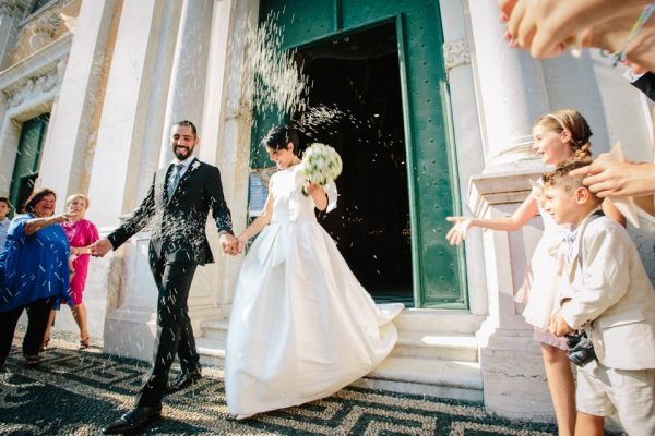 uscita sposi san michele matrimonio celle ligure