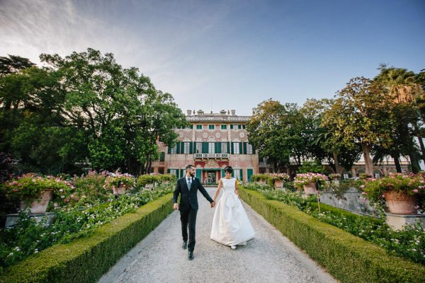 sposi villa faraggiana fotografo matrimonio