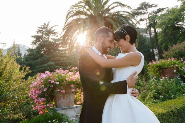 giardino villa faraggiana foto matrimonio