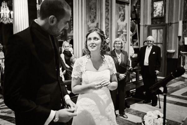 scambio anelli nuziali reportage matrimonio