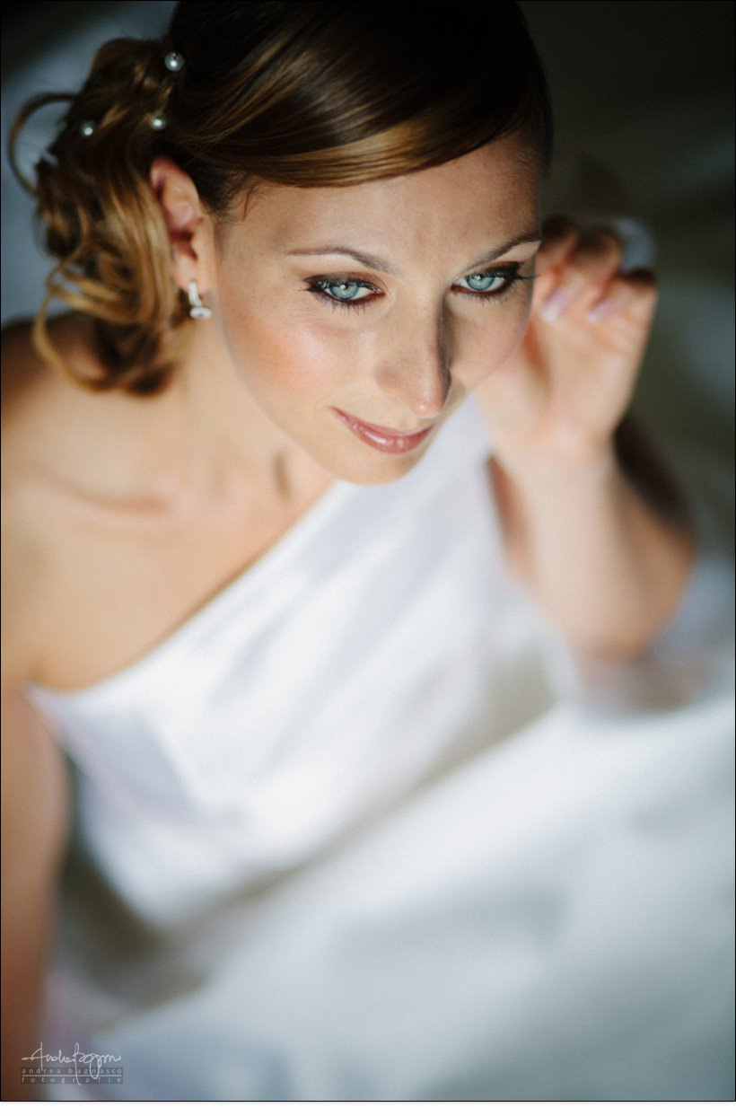 bride portrait langhe photographer