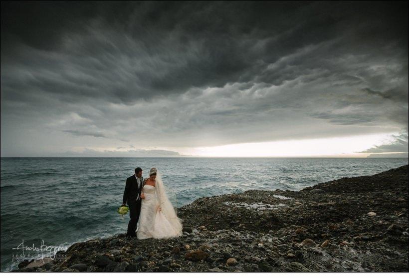 stormy weather wedding matrimonio mare varazze