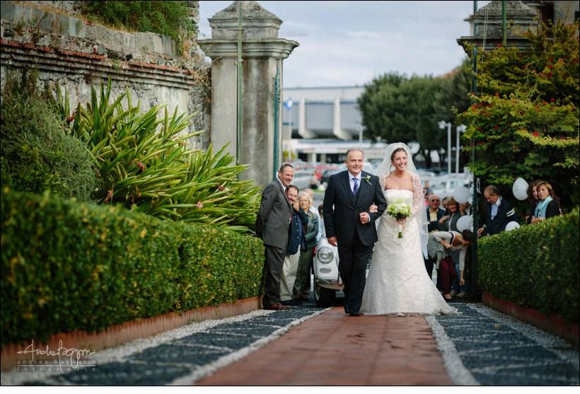 arrivo sposa matrimonio assunta varazze