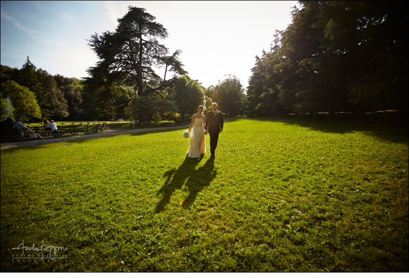 foto matrimonio parco arenzano genova