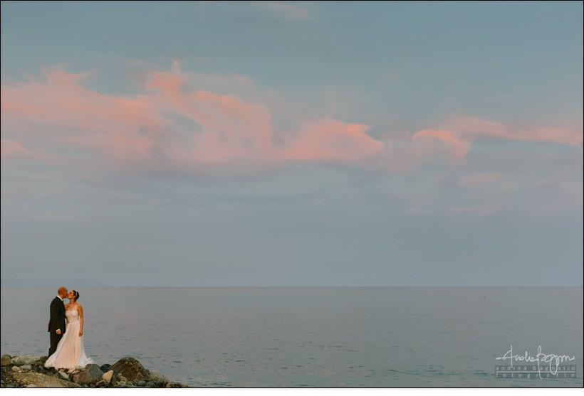 matrimonio tramonto spiaggia mare sunset wedding