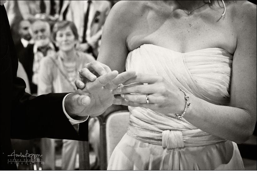 scambio anelli fotografo arenzano