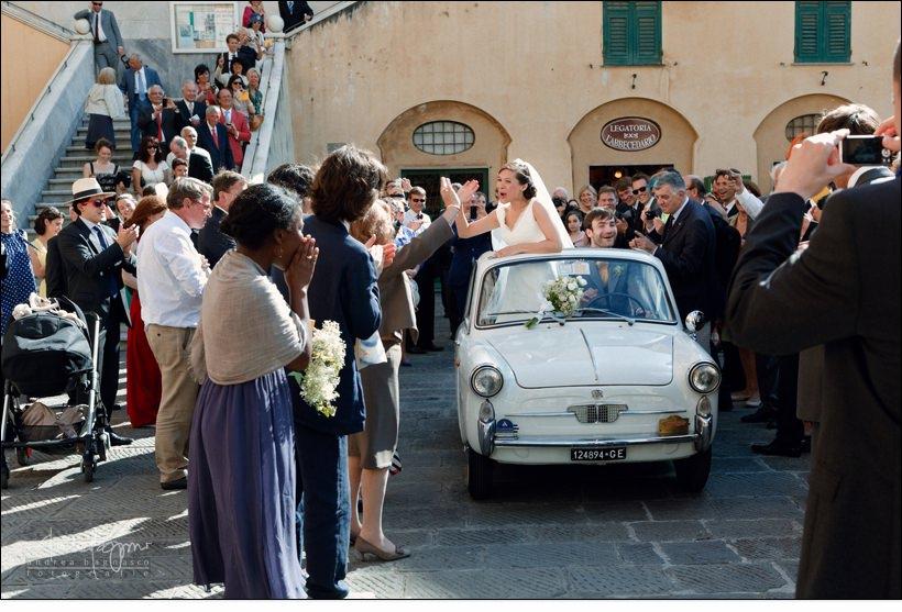 bianchina matrimonio camogli