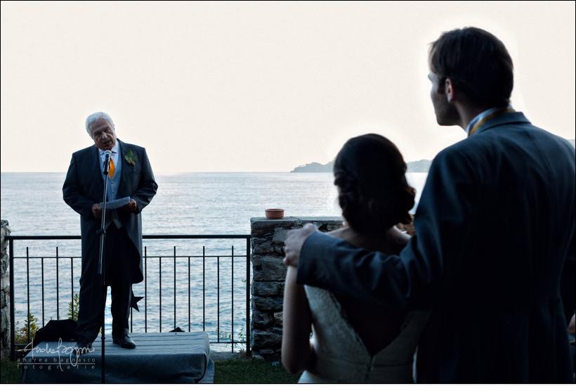 wedding speeches castello canevaro zoagli