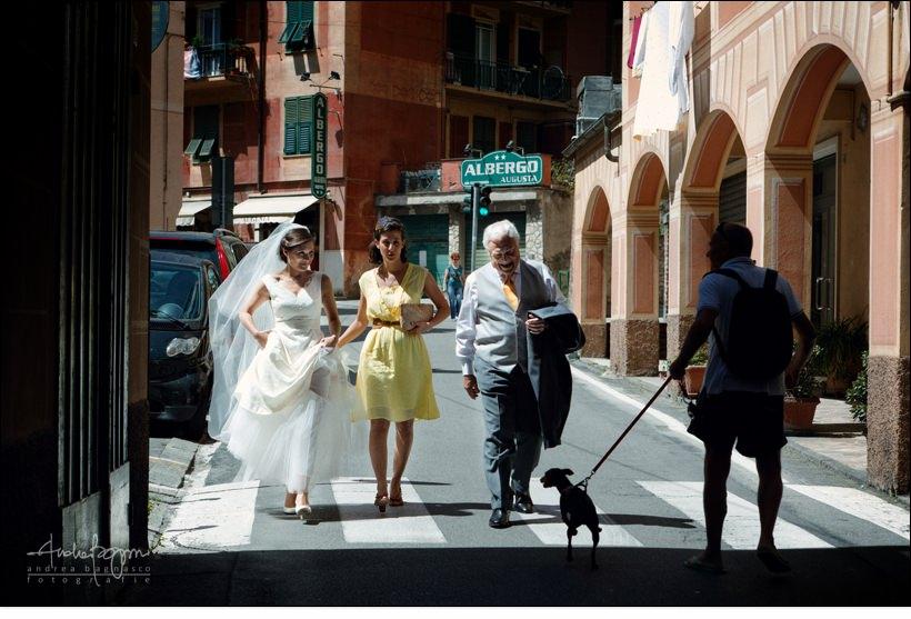 sposi camogli