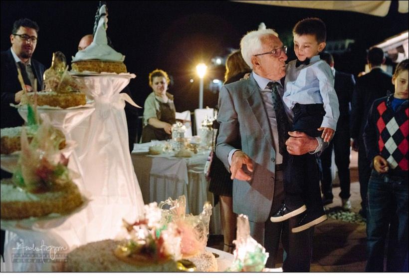 torta nuziale paradiso manu noli matrimonio