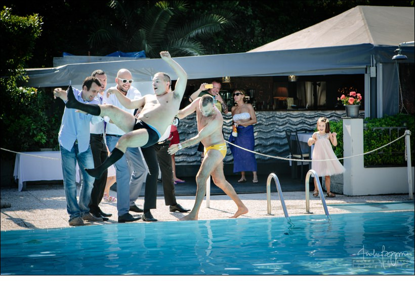 matrimonio genova piscina fotografo